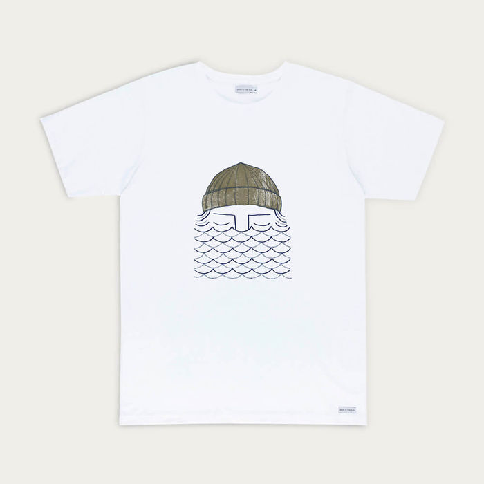 White To The Sea Tee | Bombinate