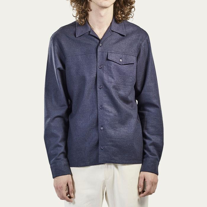 Navy Goodfellas Shirt | Bombinate