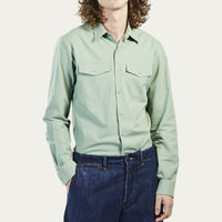 Pistachio Claude Shirt | Bombinate