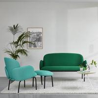 Lightgreen Dost Lounge Steel | Bombinate