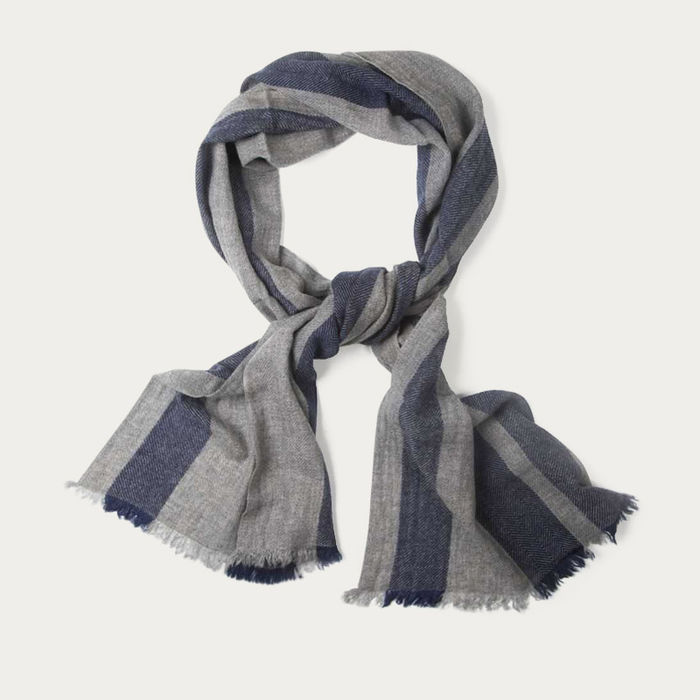 Thunder with Midnight Redford Scarf   | Bombinate