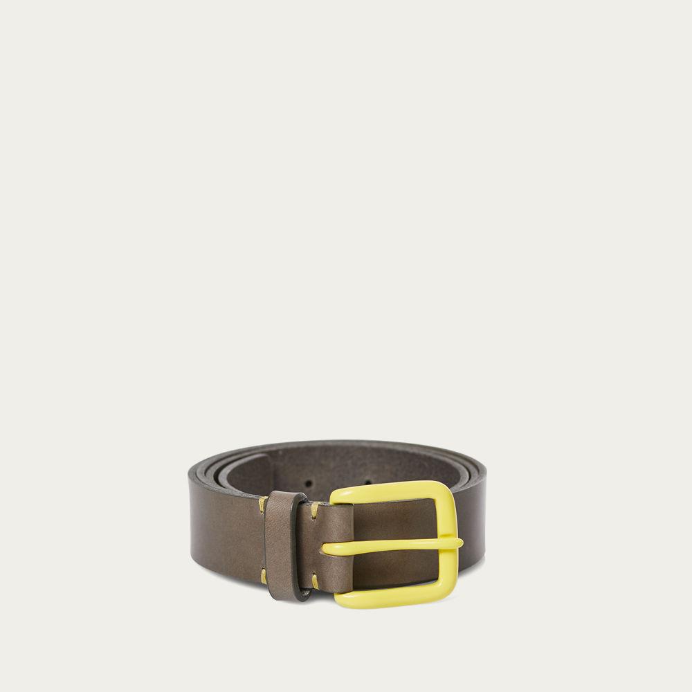 Form Grey/Citron Modernist Belt    Bombinate