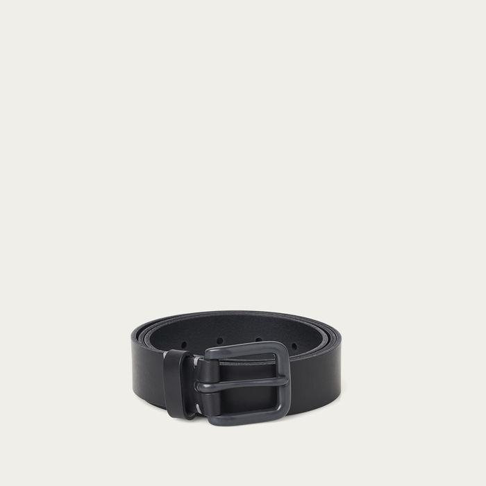 Pitch Black/Grey Modernist Belt  | Bombinate