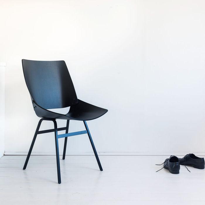 Black Shell Chair | Bombinate