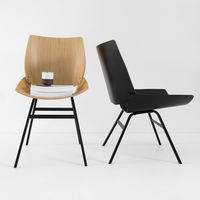 Natural Oak Shell Chair | Bombinate
