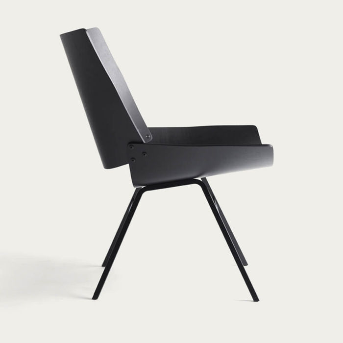Black Shell Lounge Chair | Bombinate