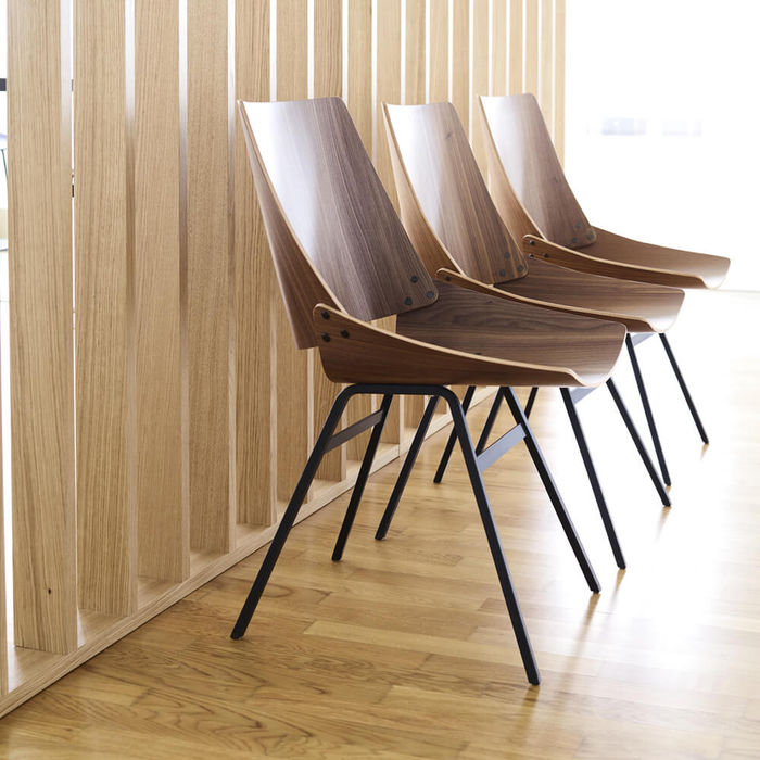 Natural Walnut Shell Chair | Bombinate