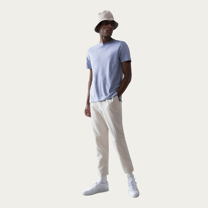 Ivory The 24 Trousers Linen | Bombinate