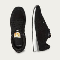 Suede and Black Velvet André Running Shoes   Bombinate