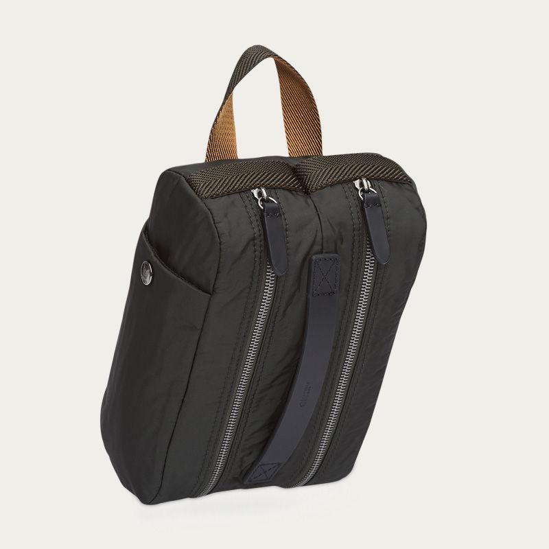 Beluga/Black M/S Double Dopp-kit  1