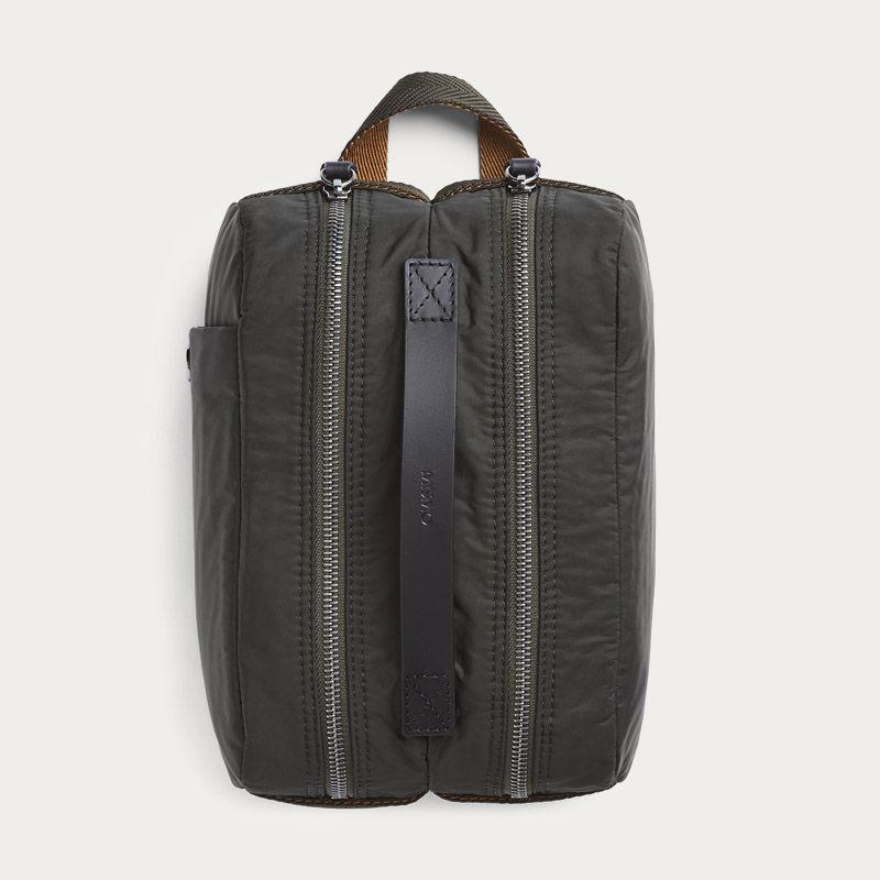 Beluga/Black M/S Double Dopp-kit  2
