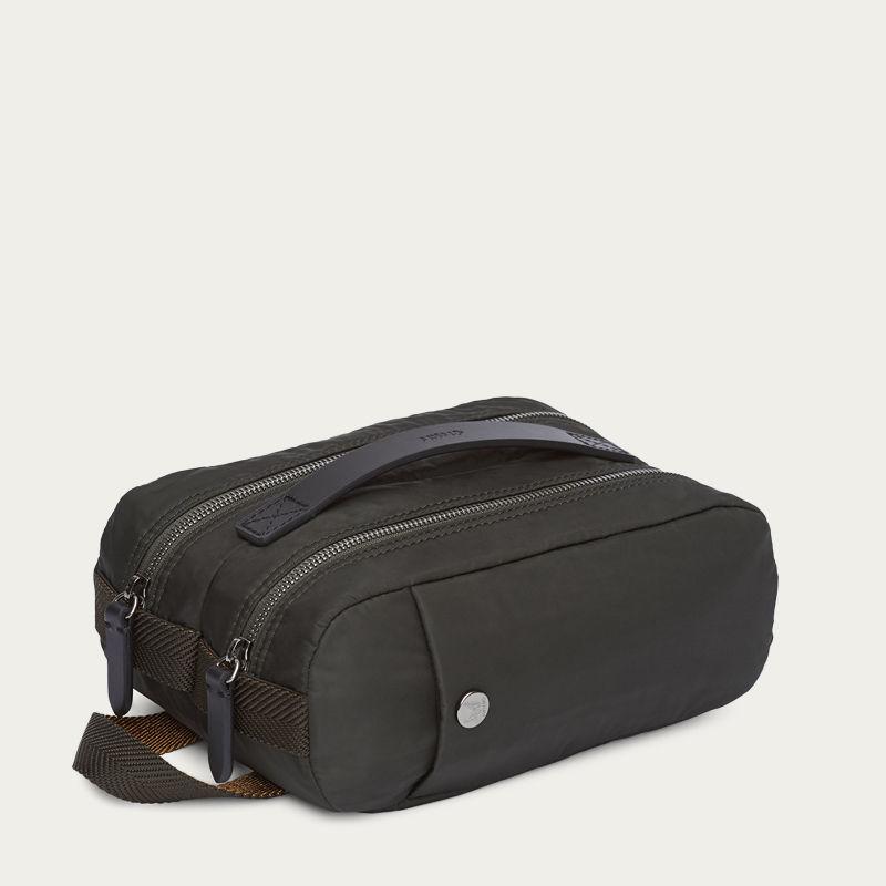 Beluga/Black M/S Double Dopp-kit  0