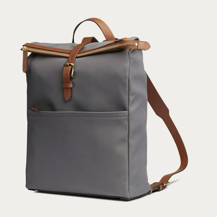 Concrete/Cuoio M/S Express Backpack | Bombinate