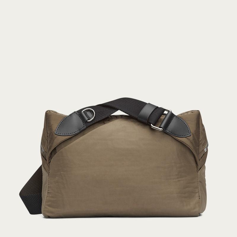 Golden Camel & Black/Black M/S Passage Sling Bag | Bombinate