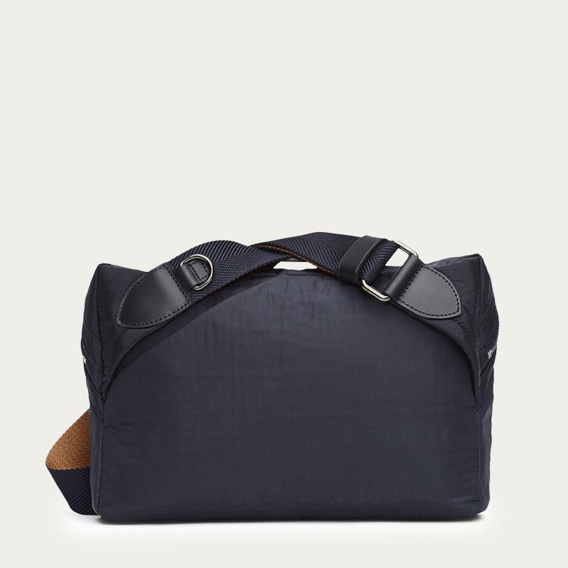 Moonlight Blue & Black/Black M/S Passage Sling Bag  | Bombinate