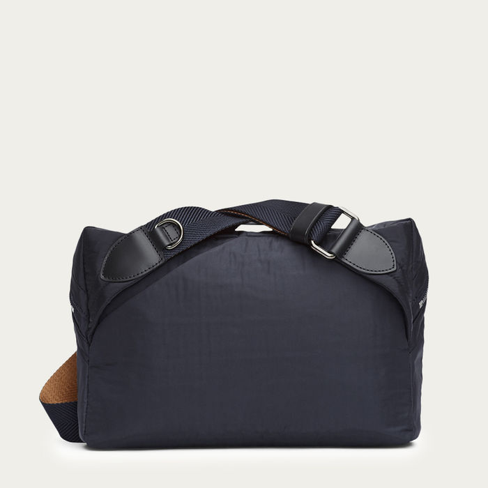 Moonlight Blue & Black/Black M/S Passage Sling Bag  | Bombinate