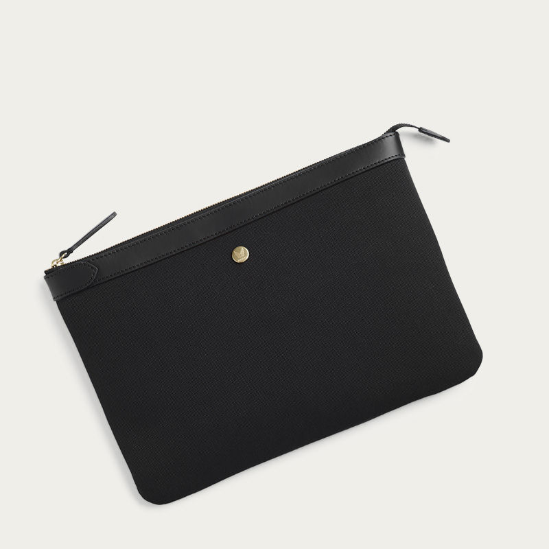 Coal/Black M/S Pouch Large Document Holder | Bombinate