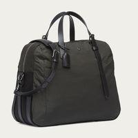 Beluga & Black/Black M/S Something Travel Bag | Bombinate