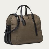 Golden Camel & Black/Black M/S Something Travel Bag | Bombinate