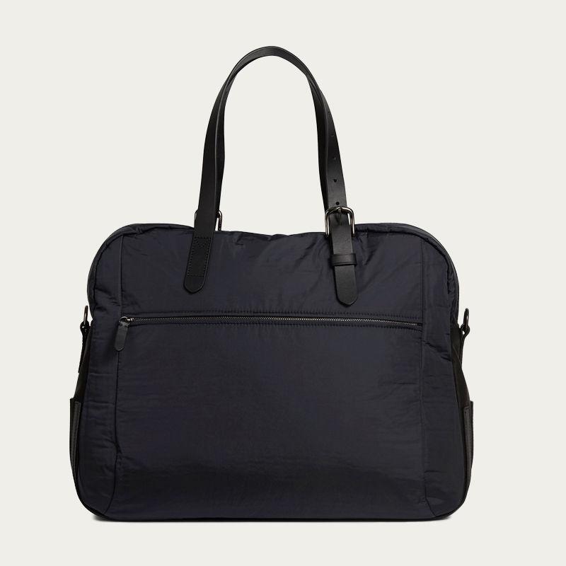 Moonlight Blue & Black/Black M/S Something Travel Bag | Bombinate