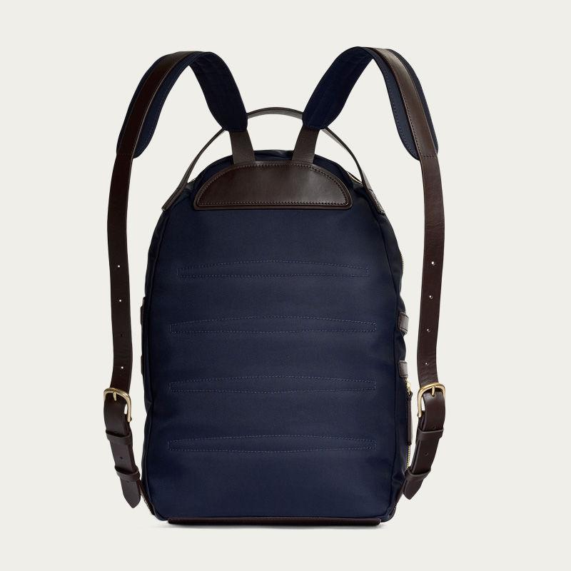Navy/Dark Brown M/S Sprint Backpack 1