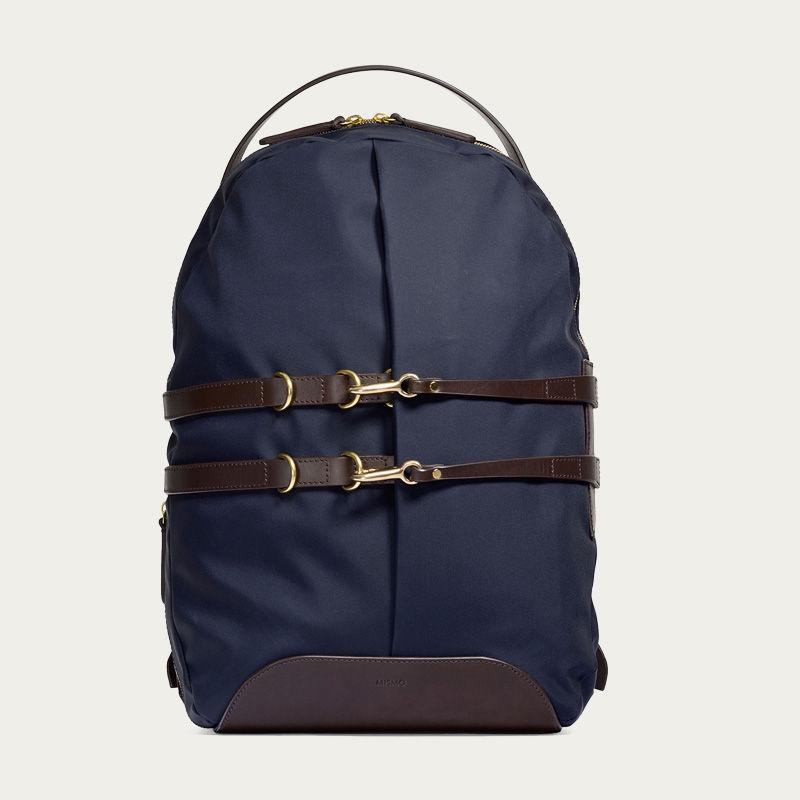 Navy/Dark Brown M/S Sprint Backpack 0