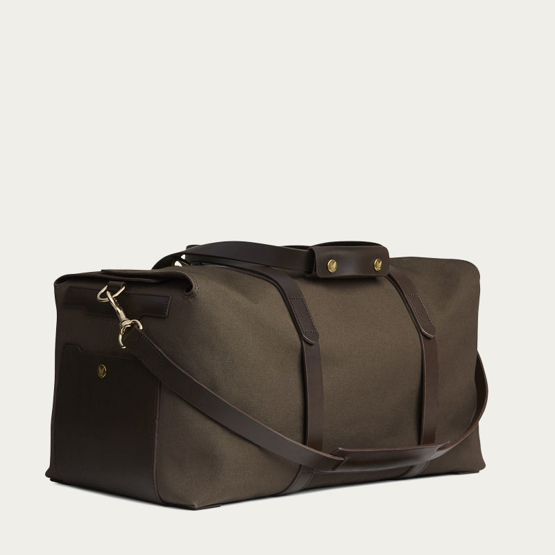 Army /Dark Brown M/S Supply Travel Bag 0
