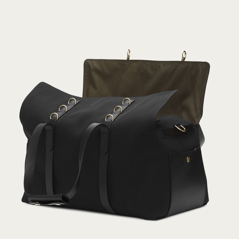 Coal/Black M/S Supply Travel Bag | Bombinate
