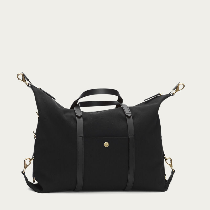 Coal/Black M/S Utility Duffle Bag | Bombinate