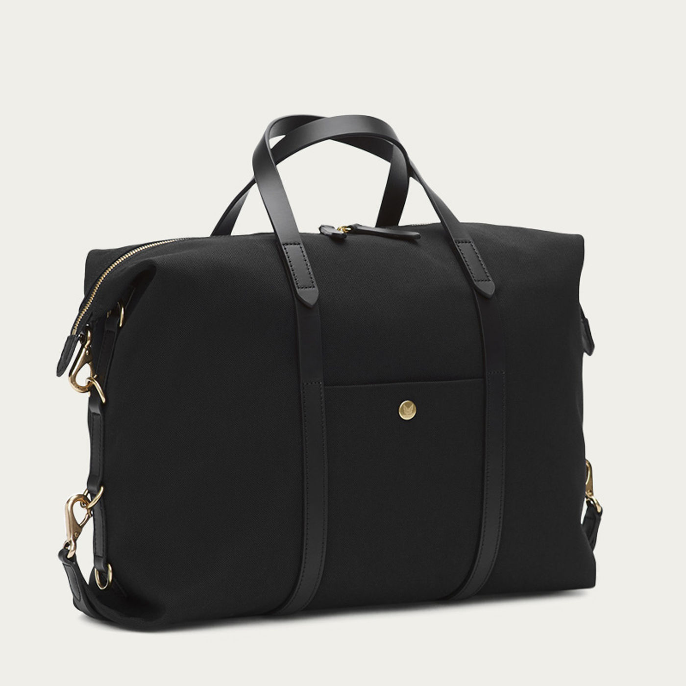 Coal/Black M/S Utility Duffle Bag | Bombinate