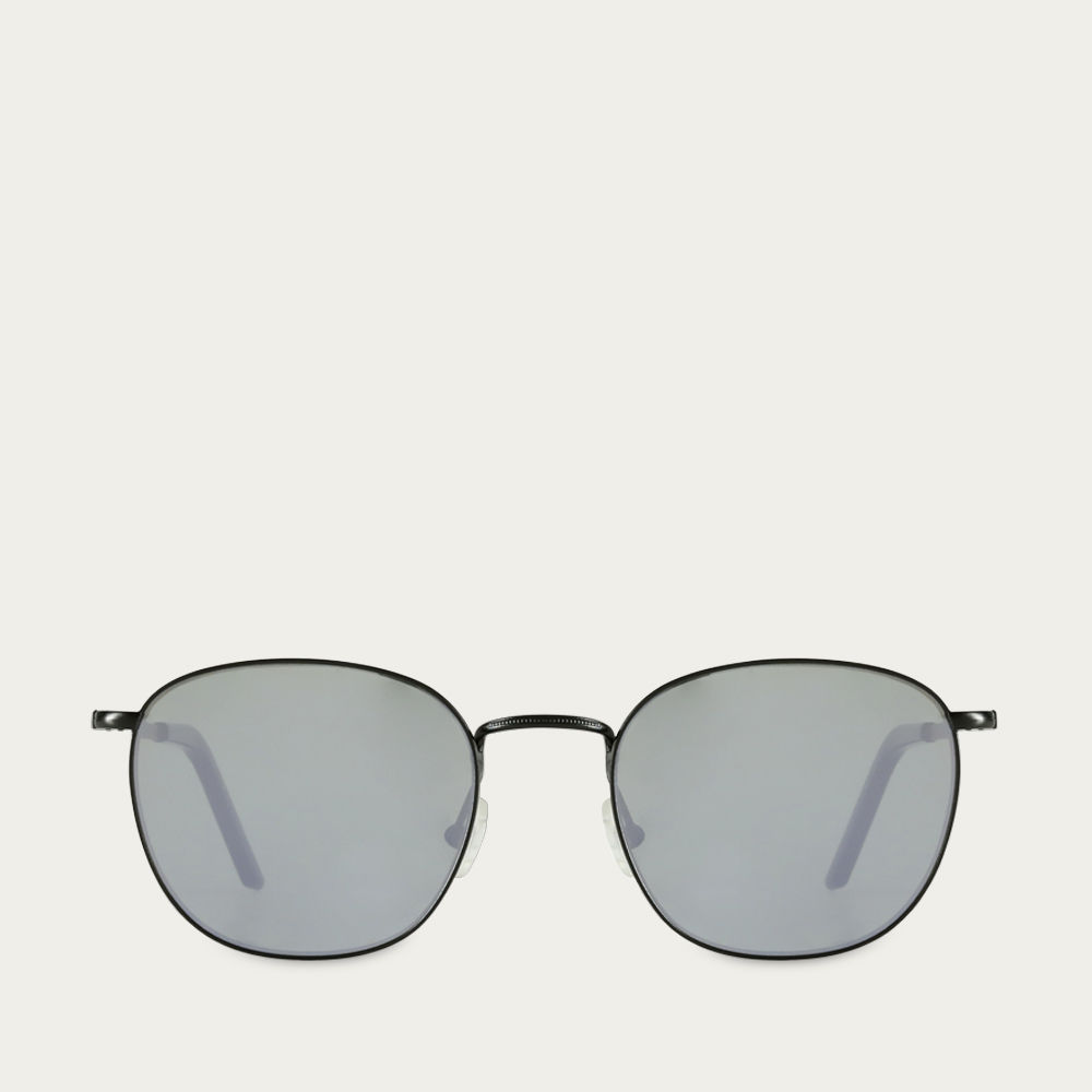 Black / Smocked Grey Madder Sunglasses | Bombinate