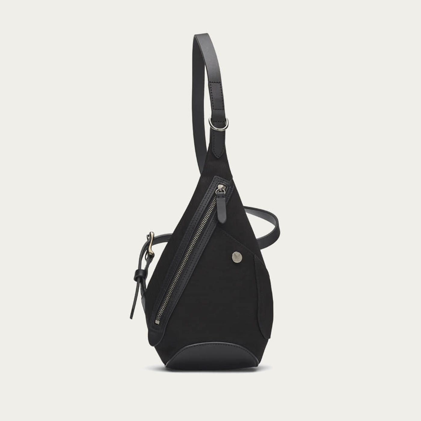 Black/Black M/S Drop Bag   Bombinate
