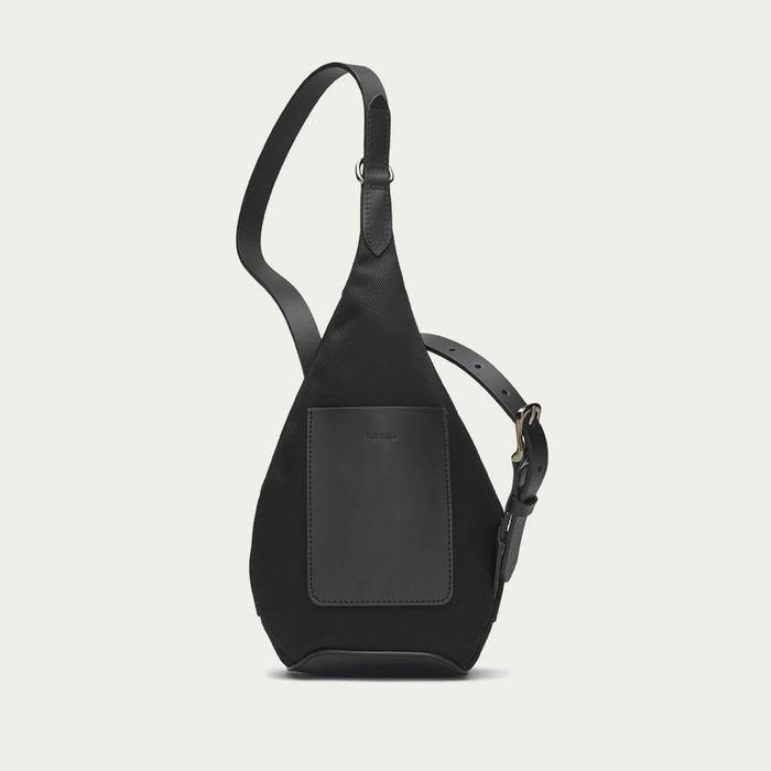 Black/Black M/S Drop Bag | Bombinate