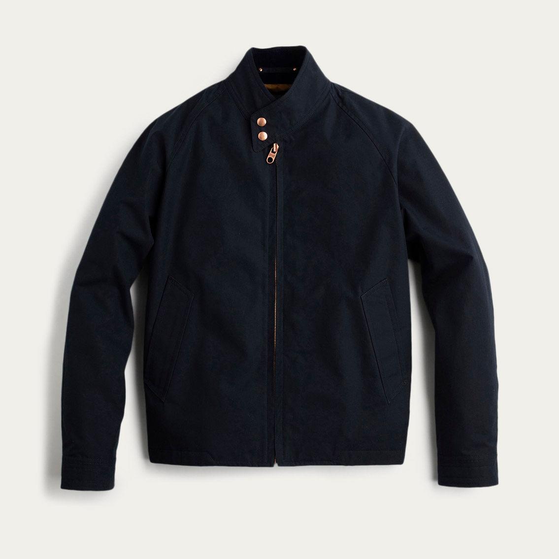 Navy Ventile Harrington Jacket | Bombinate
