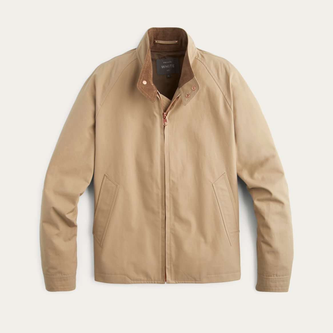 Sand Ventile Harrington Jacket | Bombinate