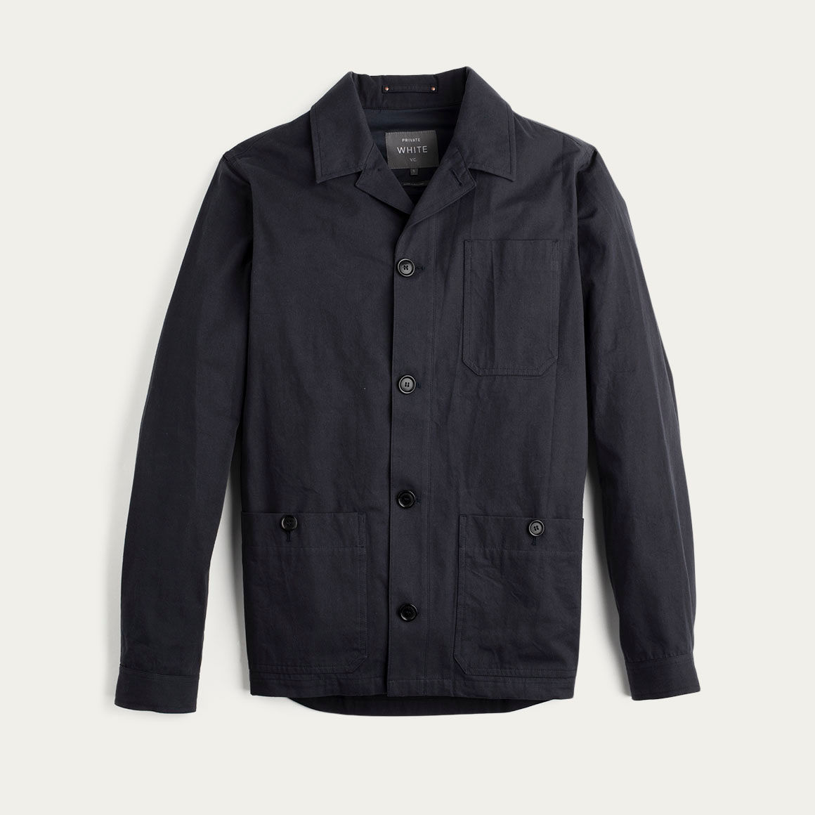 Navy Mayfair Shacket  | Bombinate