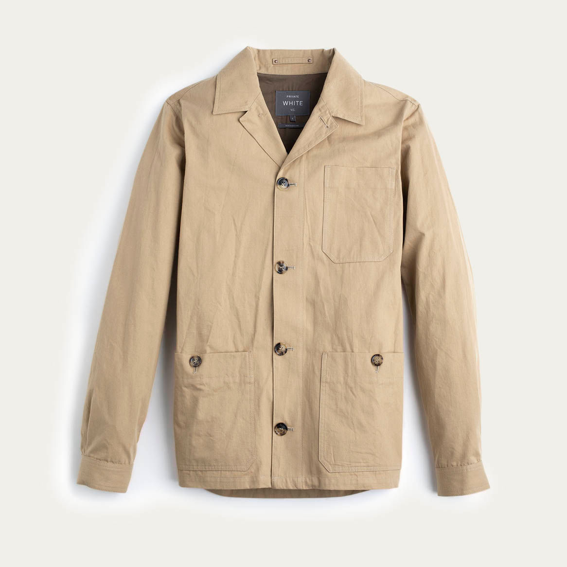 Tan Mayfair Shacket  | Bombinate