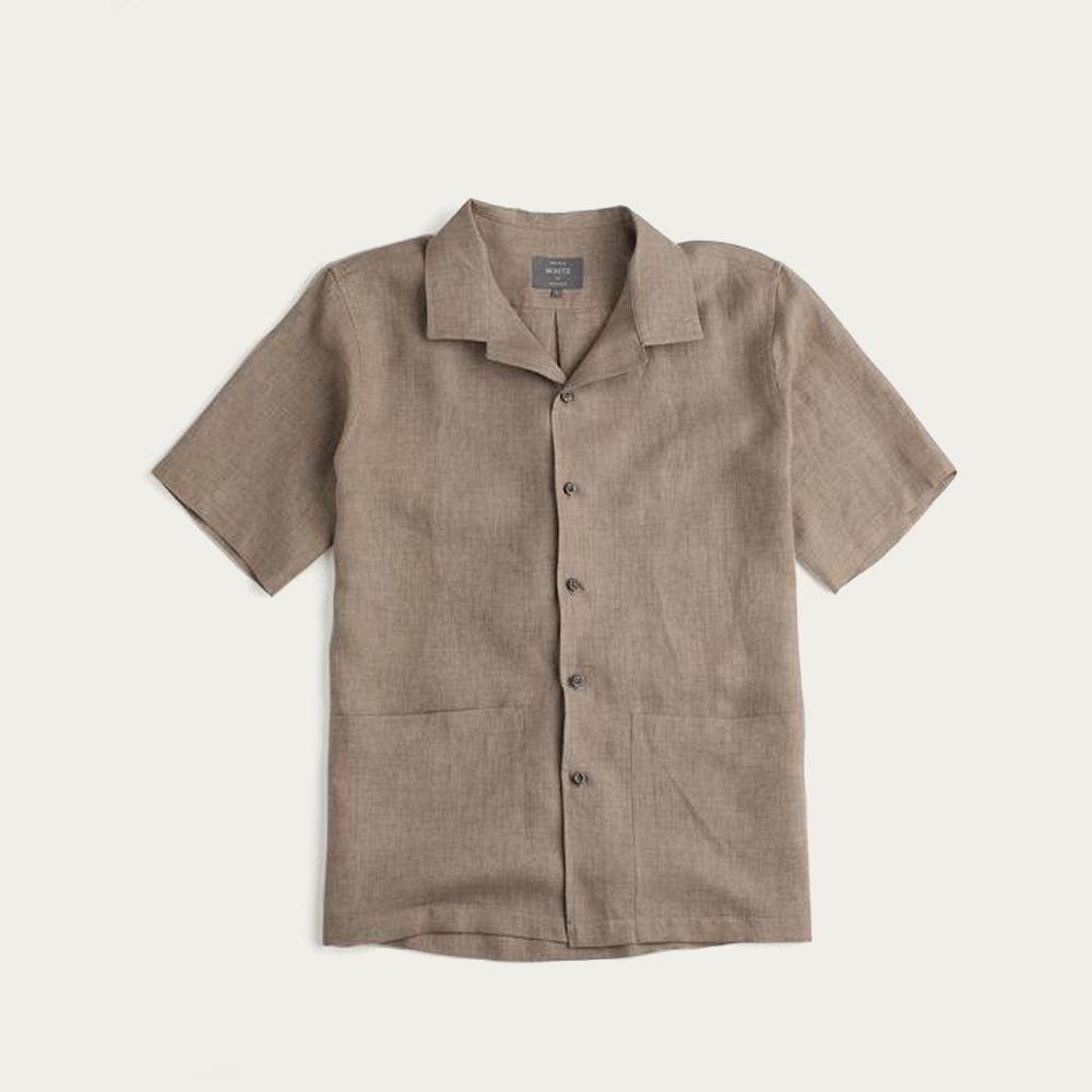 Oat Linen The Sun Shirt | Bombinate