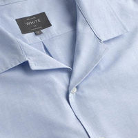 Sky Blue Linen The Sun Shirt | Bombinate