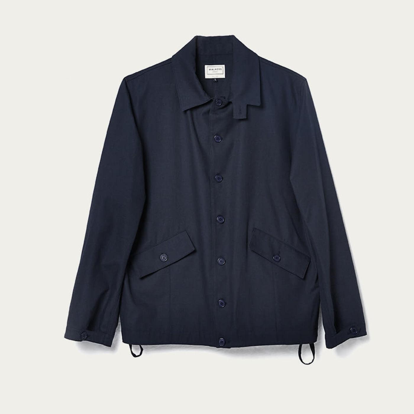 Navy Blue Esteban Jacket | Bombinate