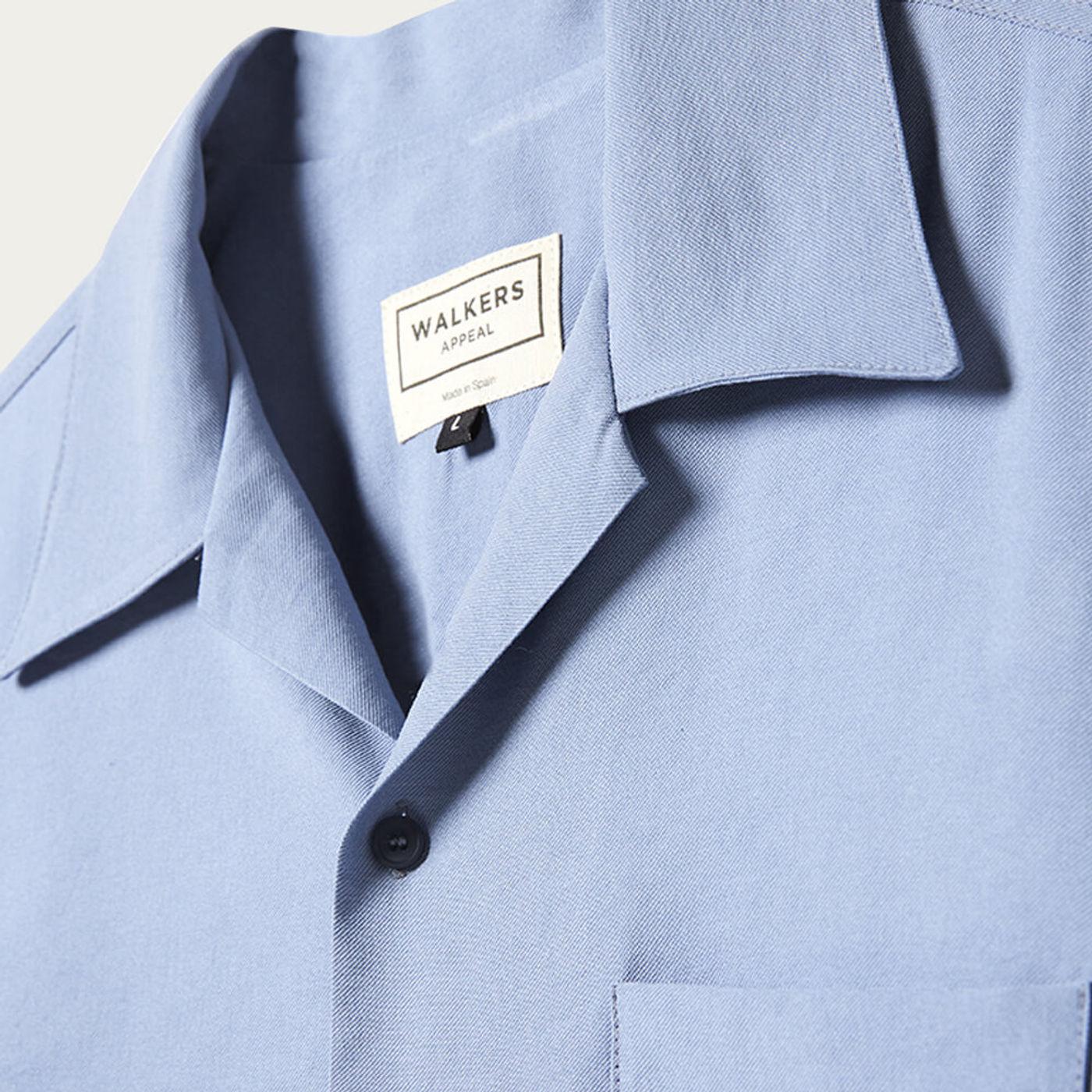 Blue Renzo Pietro Shirt | Bombinate