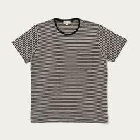 Black & Cru Tee-Shirt Stripes | Bombinate
