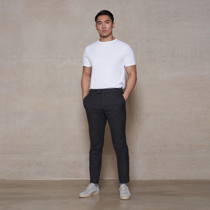 Charcoal The 24 Trouser Wool | Bombinate