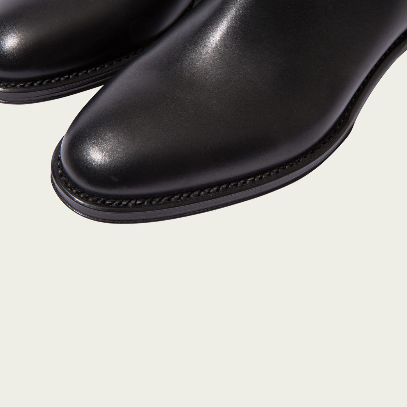 Cooper Black Chelsea Boots | Bombinate