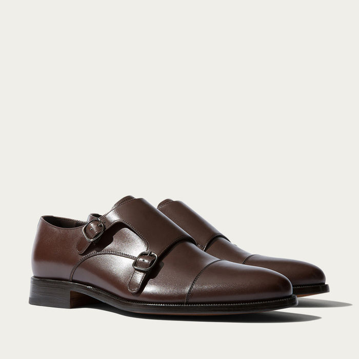 Gervasio Marrone Double Strap Monks | Bombinate