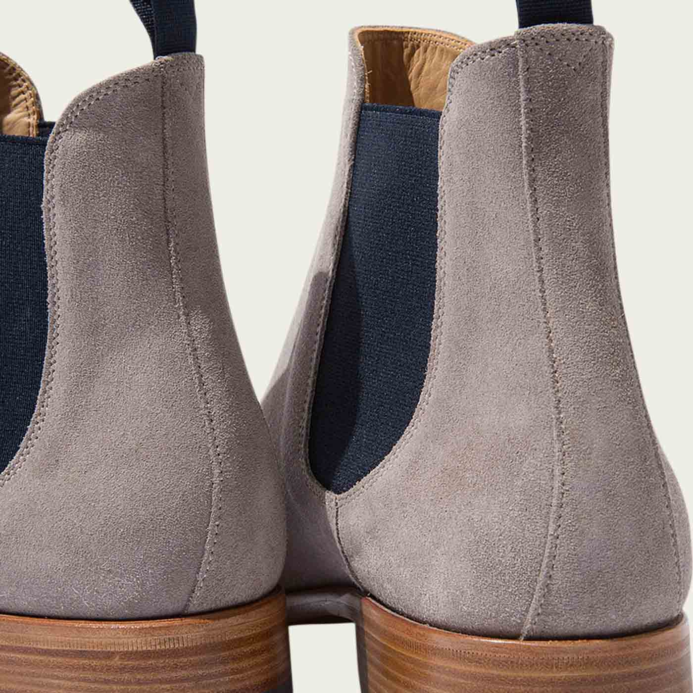 Giancarlo Taupe Chelsea Boots | Bombinate