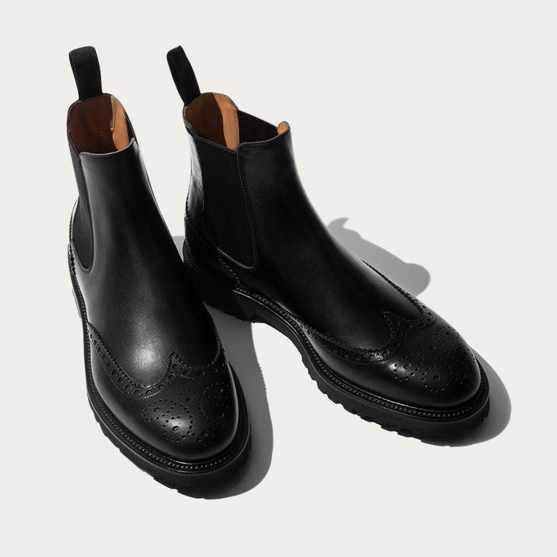 Keith Black Chelsea Boots | Bombinate