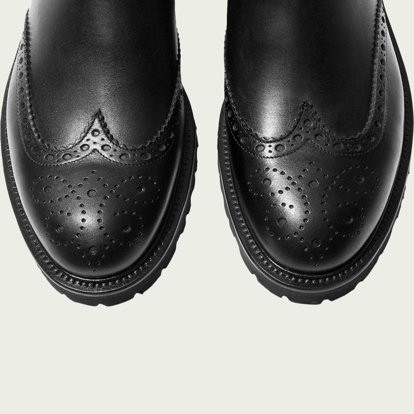 Keith Black Chelsea Boots   Bombinate