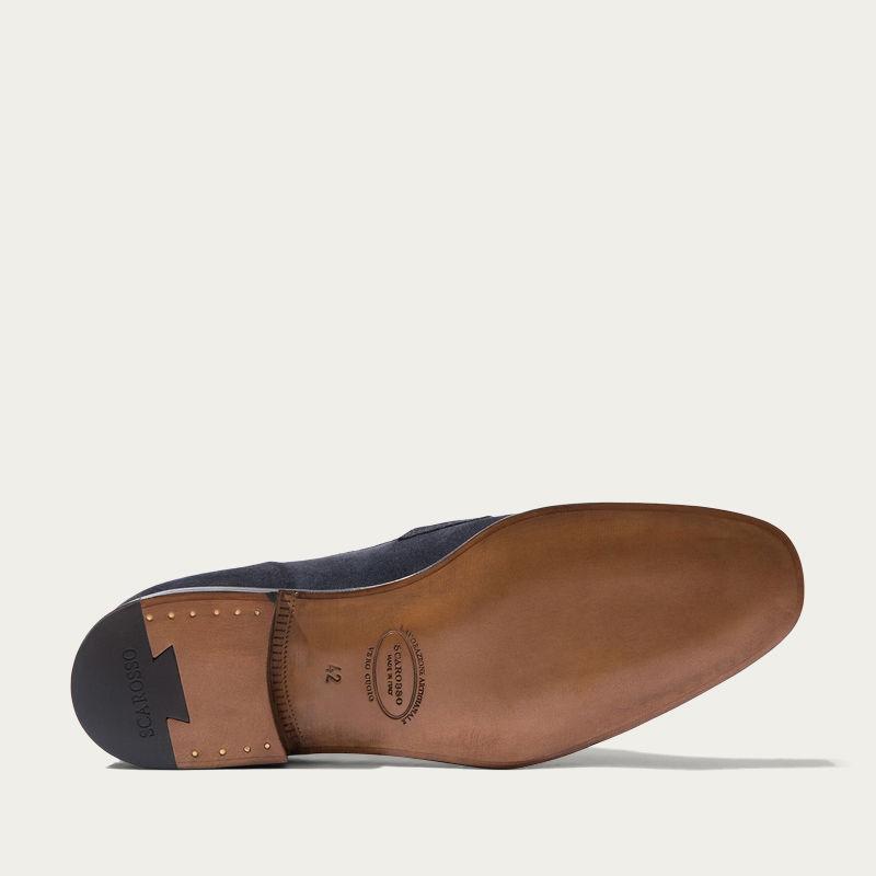 Raimondo Abisso Scamosciato Loafers | Bombinate