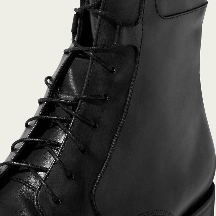 Totò Nero Lace up Boots | Bombinate